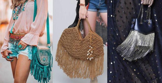 Svolazzanti e glamour: le borse con le frange 2019 nice to have