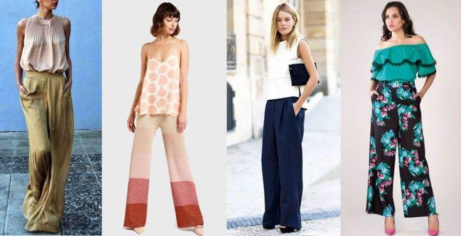 Come abbinare i pantaloni palazzo in estate e a chi stanno bene