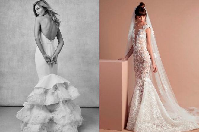 b30824c2ccdc Abiti da sposa a sirena  i modelli più belli del 2018