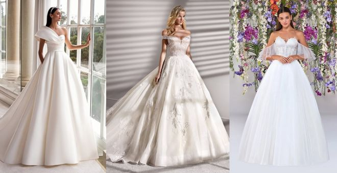 Abiti Da Sposa Principeschi.Abiti Da Sposa Principeschi 2020 Vestiti Da Sogno