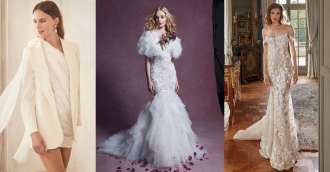 Tendenze abiti da sposa 2020 per l'inverno: le novità da New York