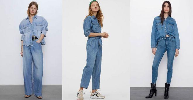 Denim total trend: il jeans non solo sulle gambe