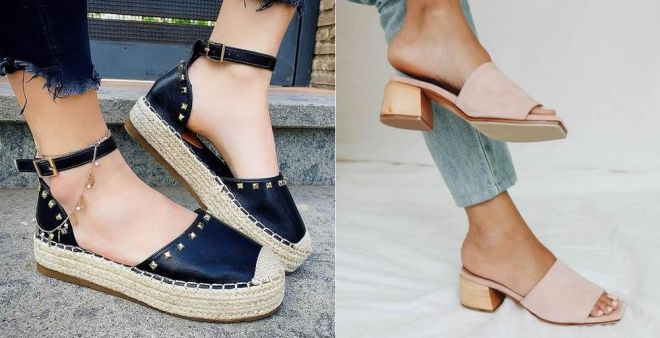 Espadrillas e mules, le scarpe must dell'estate 2020