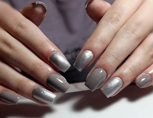 Argento e grigio