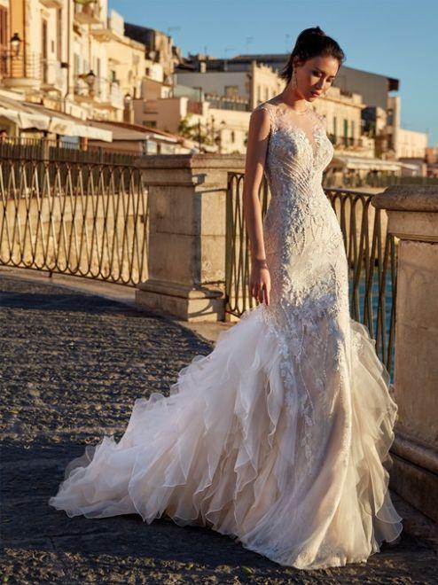Nicole Couture, abito da sposa a sirena