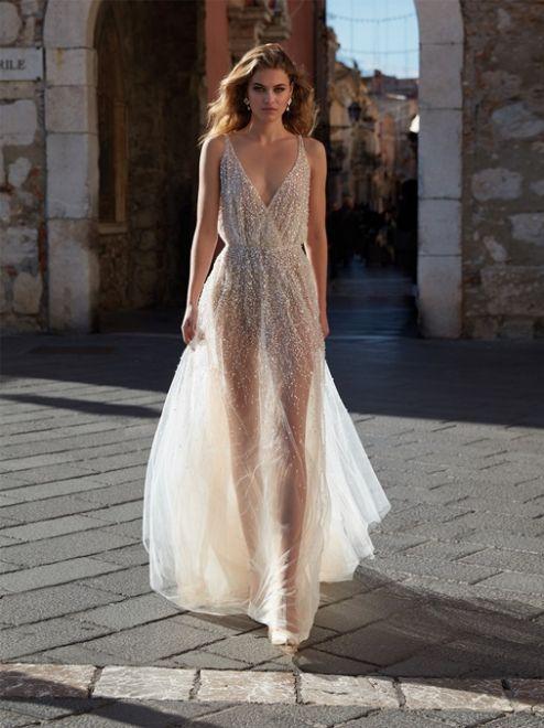 Nicole Couture, abito nude gioiello