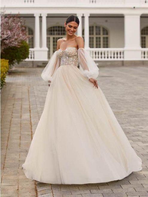 Drew, abito da sposa Pronovias