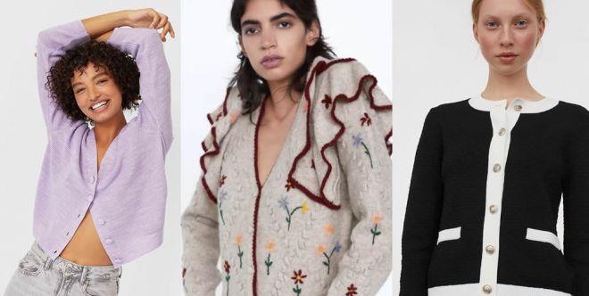Non chiamateli cardigan: le maglie con i bottoni sono di tendenza