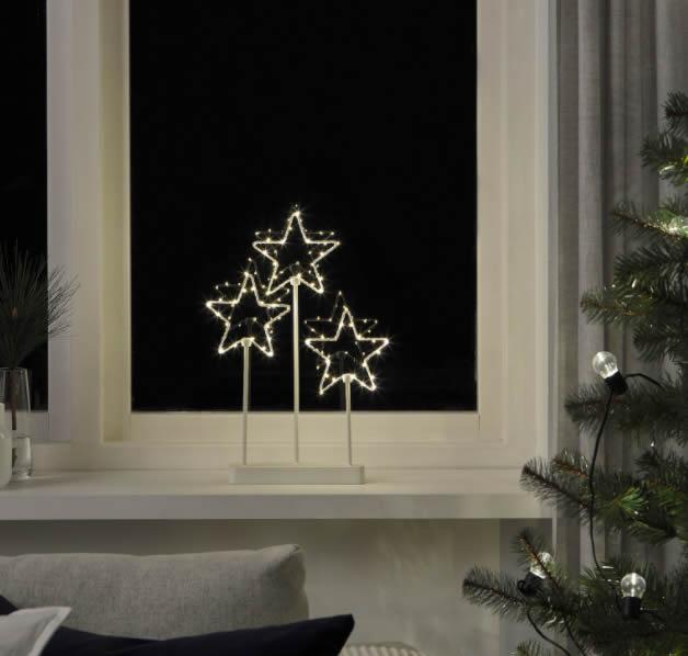 Ikea stelle luminose