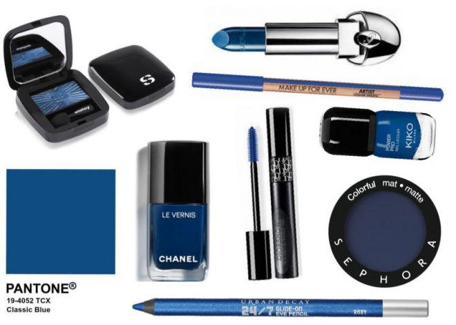Classic Blue è il colore dell'anno (anche) per il make up