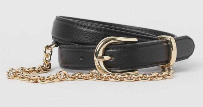 Cintura con catena H&M