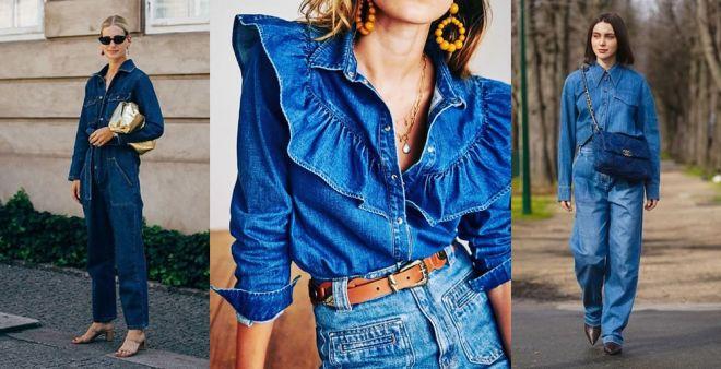 Look total denim: 5 outfit da cui prendere ispirazione