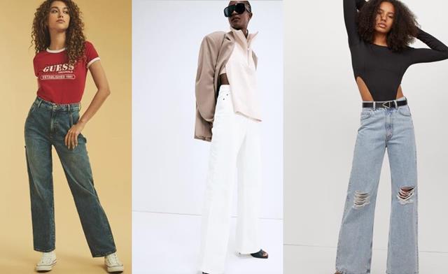 Jeans di moda per l'autunno inverno 2021 2022