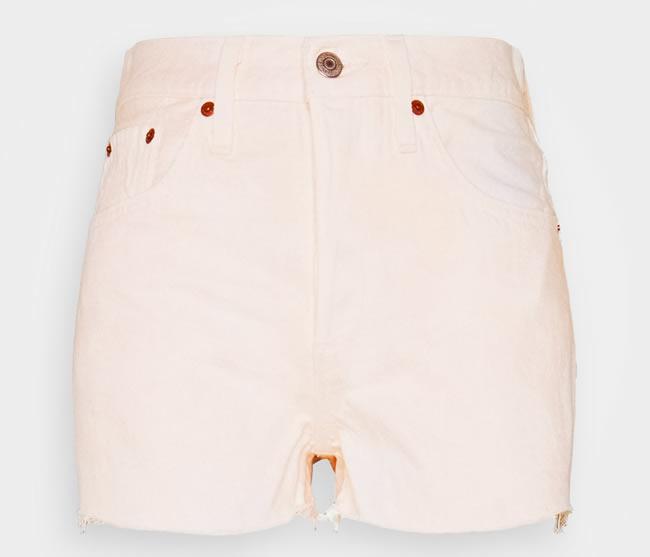Levi's shorts rosa