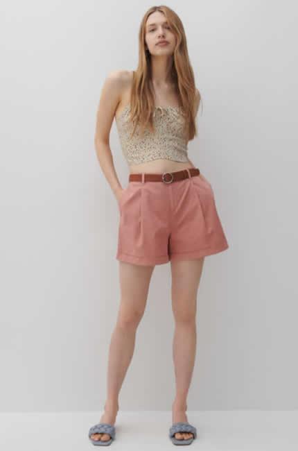 Reserved, shorts a farfalla