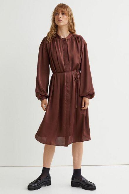 H&M, abito in raso