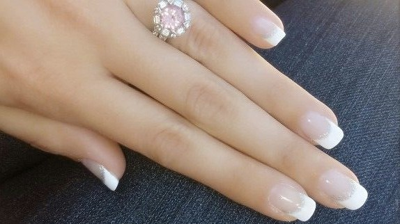 Foto trucco e unghie manicure french - French manucure mariage ...