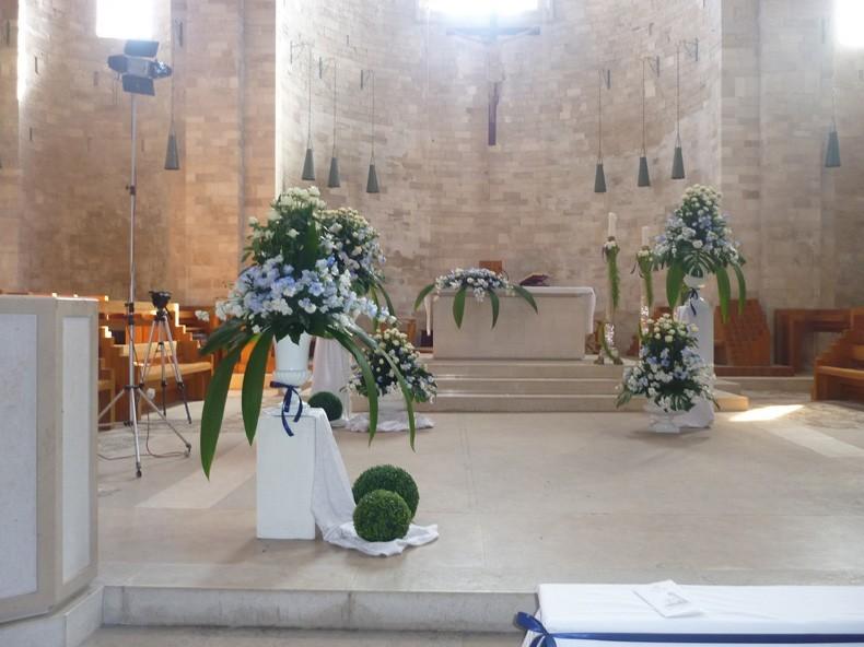 Addobbi Floreali Matrimonio Azzurro : Foto addobbi floreali stagione primavera