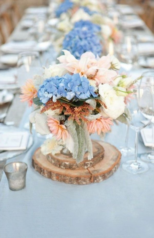 Matrimonio Colore Azzurro : Foto addobbi floreali colore azzurro