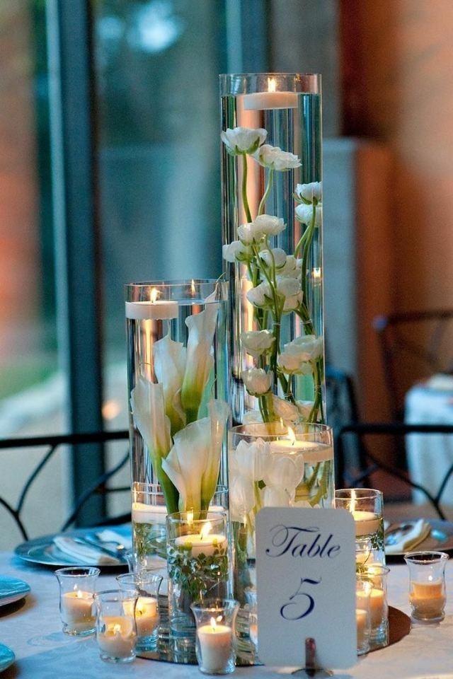 Addobbi Floreali Matrimonio Azzurro : Foto addobbi floreali centrotavola moderni