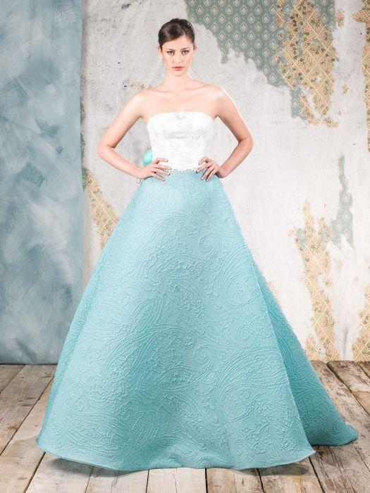 Trucco Matrimonio Abito Azzurro : Abito da sposa azzurro tiffany i vestiti sono popolari